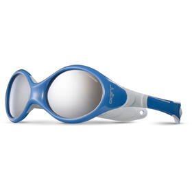 Julbo Looping III Spectron 4 Aurinkolasit 2-4Y Lapset, blue/gray-gray flash silver